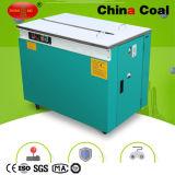Máquina de cintagem de caixa de máquina de cintura semi-automática de mesa