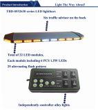 Bernsteinfarbige LED Lightbar mit Controller