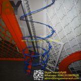 PVC上塗を施してあるアコーディオン式かみそりワイヤー