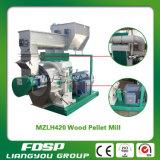 Le moulin en bois de boulette de paille approuvée de la CE pour font le bois de boulette