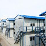 Chambre préfabriquée légère de structure métallique pour le dortoir d'ouvriers