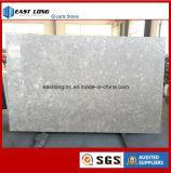 Pedra artificial de quartzo da cor de mármore para a parte superior do banheiro da parte superior da vaidade do Countertop/da cozinha