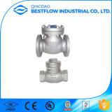 Válvula de verificação do balanço do molde do aço inoxidável