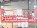 Alumínio/plataformas suspendidas usadas aço com boa qualidade