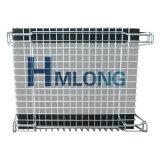 Zusammenklappbarer Maschendraht-Stahlrahmen/Vorratsbehälter für Ladeplatten-Zahnstange