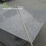 Carrelage de finition Polished de granit gris de l'usine G603 de la Chine