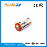 3.0V 1.5ah Spiral Typelithium Battery para Clock tempo real (CR123A)