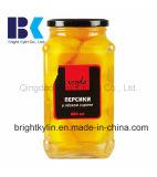 Pesche inscatolate gialle fresche della Cina in latte