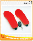 3.7Vリモート・コントロールの1800のmAhの電気熱くする靴の中敷