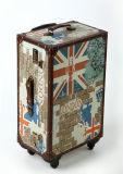 [بو] جلد طباعة حقيبة [رود] صندوق سفر حقيبة ركوب صندوق