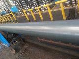 Tubo rotondo d'acciaio nero verniciato di ERW