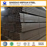 10X20mm bis 800X400mm mildes Russ-rechteckiges Stahlrohr