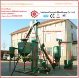300-500kg/H 가금은 가족을%s 펠릿 선반 기계를 공급한다