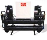 학교를 위한 물 열 펌프 프로젝트 (COOLING/HEATING & 온수 공급)