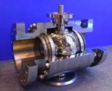 Trunnion установил выкованное Ss316L служил фланцем шариковые клапаны места металла