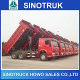 10 preço resistente do descarregador de Sinotruk HOWO dos caminhões do veículo com rodas