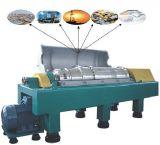 Máquina de la centrifugadora del aceite de oliva de la pila horizontal y de disco de China