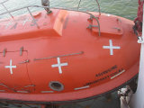 Excellents bateau de sauvetage et bateau de sauvetage totalement inclus approuvés du Chinois CCS pour le bateau