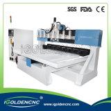4개의 축선 CNC 기계를 이동하는 다중 스핀들 테이블