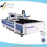 Machine de découpage de laser de fibre pour le panneau de fer
