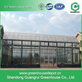 설치를 위한 농업 다중 경간 유리제 온실
