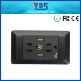 стенная розетка USB 5V 2.1A 1 переключенная шатией