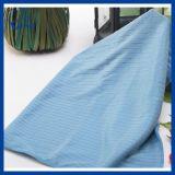 Tejer la trama de microfibra Towel Grip de cristal (QHDD00922)