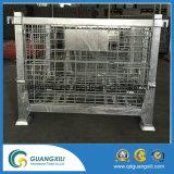 Di sollevamento pieghevole resistente contenitore della rete metallica della lega per caratteri