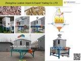 Machine de refroidissement de granulés d'engrais de bois travaillant dans la ligne de production de granulés