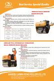voll hydraulisches Vibrationsminiverdichtungsgerät der platten-500kgs (JMS05H)