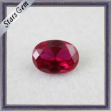 Jewelry를 위한 공장 Price Synthetic Gemstone Corundum 5# Ruby