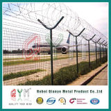 Frontière de sécurité de maille de barbelé de rasoir de poste de Y pour la frontière de sécurité de cadre d'aéroport