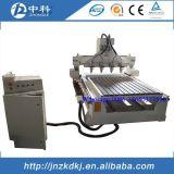 Machine de découpage en bois rotatoire de commande numérique par ordinateur d'axe de la Chine 4 avec les axes multi