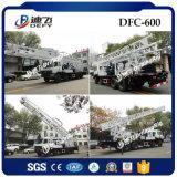 진흙 펌프를 가진 우물 Dfc-600를 위한 트럭에 의하여 거치되는 드릴링 리그