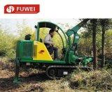Fuwei 26HPの車輪またはクローラー小型木の穴の坑夫のバックホウのローダー