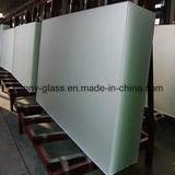 Glace en verre ultra claire en verre d'Inférieur-Fer/construction