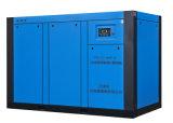 Compresor de aire magnético permanente del tornillo del rotor de la frecuencia (TKLYC-160F)
