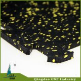 De elastische 500X500X10mm RubberMat van de Vloer voor Corssfit