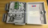 Caixa terminal da fibra óptica ao ar livre quente do plástico FTTH do núcleo da venda 16
