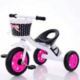 Le tricycle meilleur marché de bébé, bicyclette de bébé badine le tricycle avec le panier