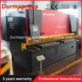 Máquina de estaca da chapa de aço de China Anhui QC12y 12X6000
