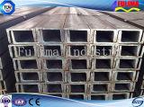 Canal U de acero ligero laminado en caliente para la construcción de edificios (SSW-UC-001)