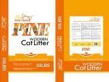 Мешок пластмассы высокого качества сплетенный PP для сора кота