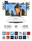 WiFi Android 5.1 Vierradantriebwagen-Kern Rk3128 intelligenter Fernsehapparat-Kasten Q2