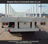 ' dell'asse in tandem 40 alto della base della sospensione resistente rimorchio semi con la parete anteriore ed il palo per trasporto di contenitore o del carico all'ingrosso