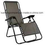 Beweglicher bequemer Texilene Garten-Falz-Stuhl für Aufenthaltsraum