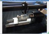 スタンプのゴム製二酸化炭素アクリルのガラスペーパー木のための小型レーザーの彫版機械
