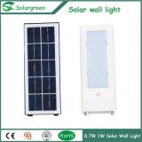 grosse Batterie-starke Versions-Solarwand-Licht des Sonnenkollektor-7W