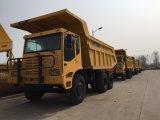 Caminhão de descarga rígido, caminhão de mineração com capacidade de carregamento de 45 toneladas