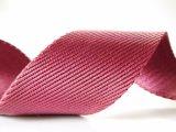 [40مّ] أحمر نسيج قطنيّ نيلون شريط منسوج لأنّ إشارة حقيبة يد